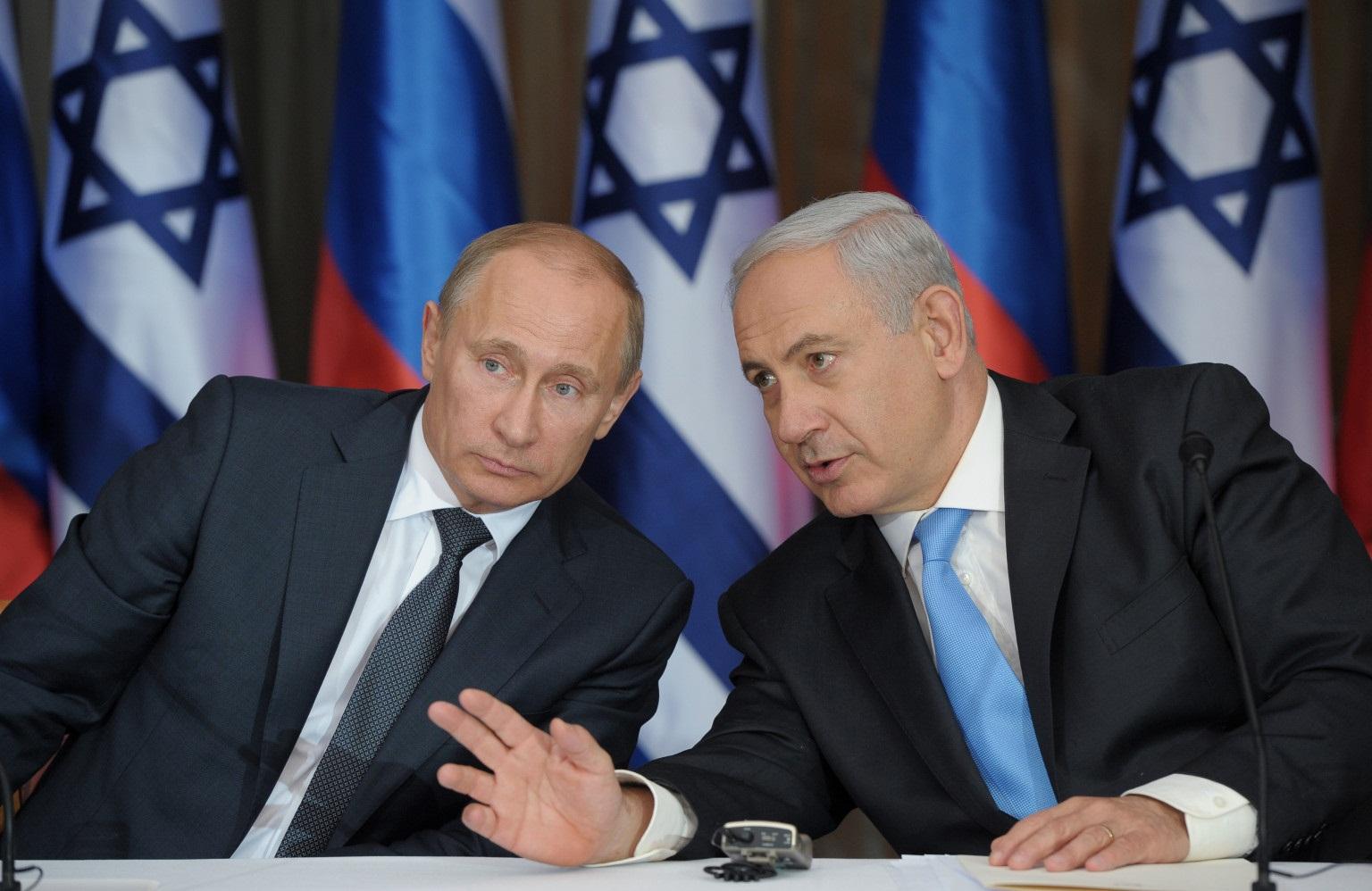 مصادر اسرائيلية : نتنياهو سيلتقي الرئيس الروسي بوتين الإسبوع القادم