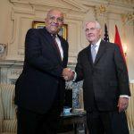 وزير الخارجية المصري سامح شكري يلتقي نظيره الأمريكي ريكس تيليرسون في واشنطن