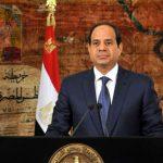 الرئيس المصري عبد الفتاح السيسي رئيس مصر العربية