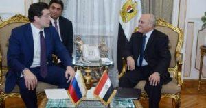 تعاون مصرى - روسى فى مجالات التصنيع المشتركة