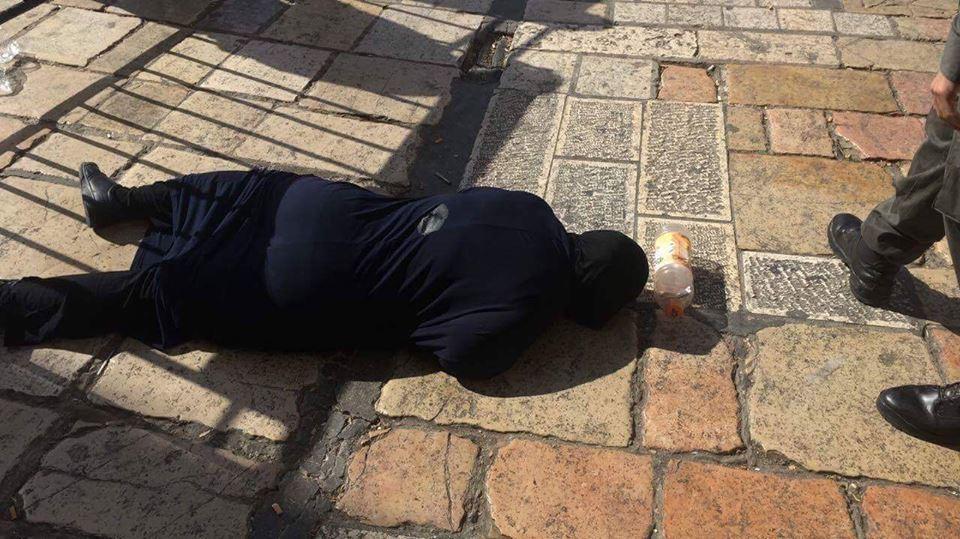 بالصور ، استشهاد فتاة فلسطينية برصاص الاحتلال في القدس
