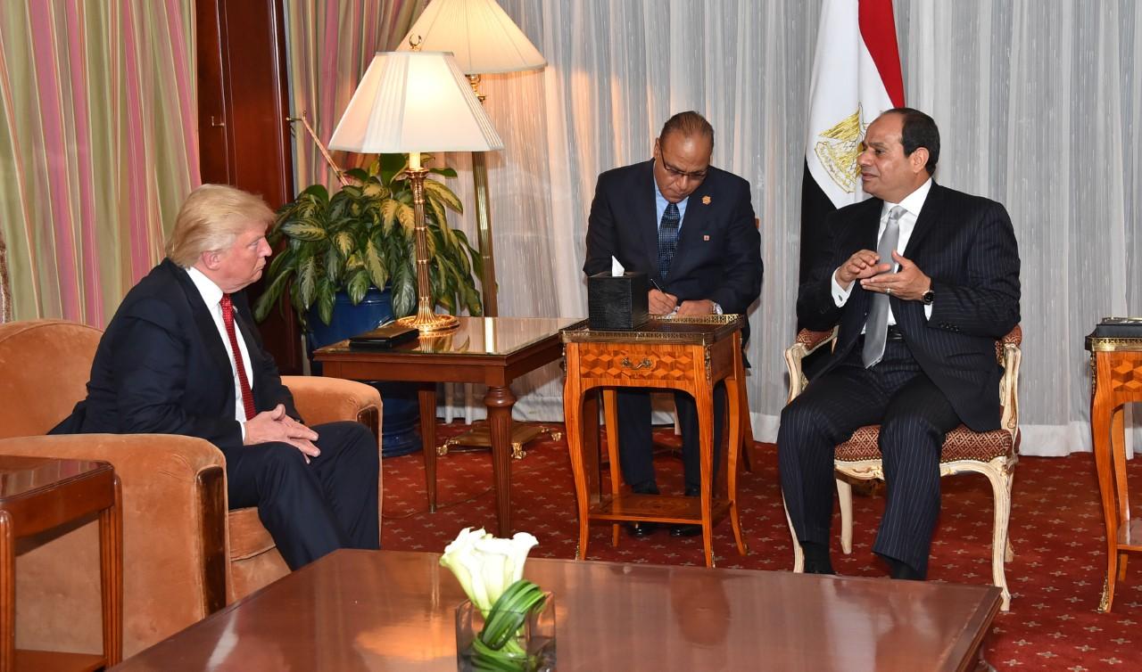 الرئيس عبد الفتاح السيسي سيبدأ زيارة رسمية الى واشنطن وسيلتقي بالرئيس ترامب