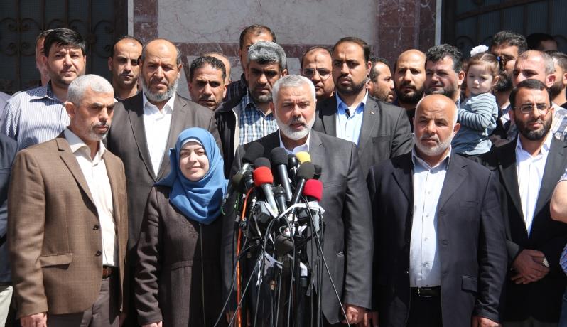 إسماعيل هنية يعلن اعتقال القاتل المباشر في جريمة اغتيال الشهيد مازن فقهاء