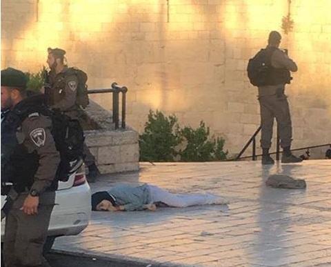 استشهاد فتاة فلسطينية في القدس
