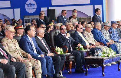 الرئيس عبد الفتاح السيسي رئيس جمهورية مصر العربية